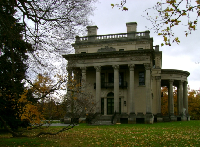 Vanderbilt Mansion in Hyde Park, NY